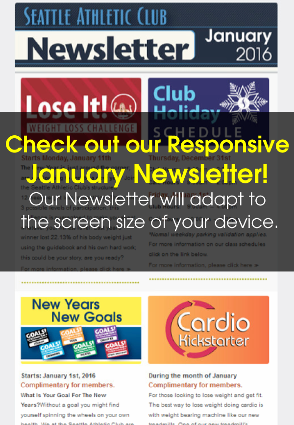 Seattle Athletic Club Downtown - January 2016 Newsletter